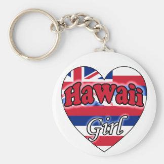 Hawaii Girl Key Ring