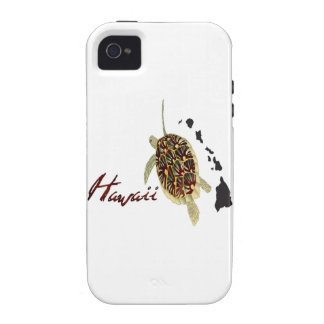 Hawaii Green Sea Turtle Vibe iPhone 4 Cases