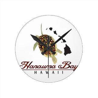 Hawaii Green Sea Turtle Clock