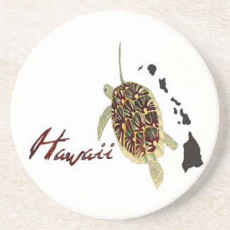 Hawaii Green Sea Turtle Coaster