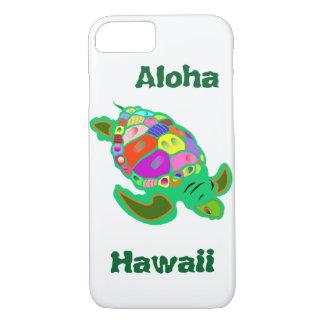 Hawaii Green Sea Turtle iPhone 7 Case