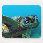 Hawaii Green Sea Turtle Mouse Pad