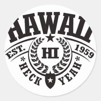 Hawaii Heck Yeah Est 1959 Sticker