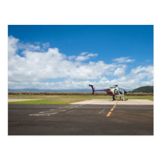 Hawaii Helicopter Adventure Postcard