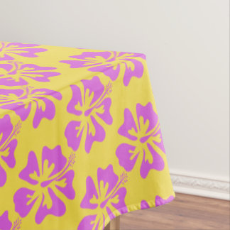Hawaii Hibiscus flower floral pattern tablecloth