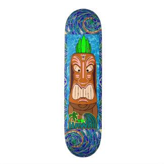 Hawaii High Tide 21.6 Cm Old School Skateboard Deck