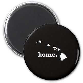 Hawaii Home 6 Cm Round Magnet
