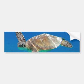 Hawaii Honu Turtle Bumper Sticker