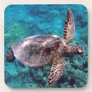 Hawaii Honu Turtle Cork Coaster