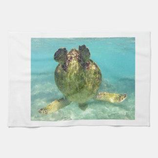 Hawaii Honu Turtle Tea Towel