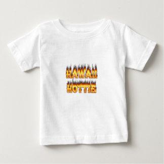Hawaii Hottie Fire and Flames Tshirt