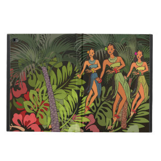 Hawaii Hula Vintage Art Print ipad graphic design Powis iPad Air 2 Case