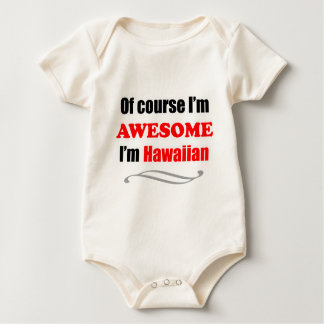 Hawaii Is Awesome Baby Bodysuit