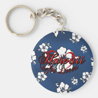 Hawaii is for Lovers Basic Round Button Key Ring
