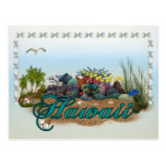 Hawaii island post cards