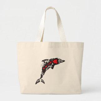 Hawaii Islands ad Dolphin Tote Bag