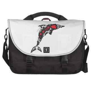 Hawaii Islands ad Dolphin Laptop Computer Bag