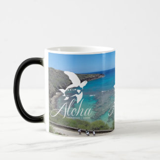 Hawaii Islands and Hawaii Turtle Magic Mug