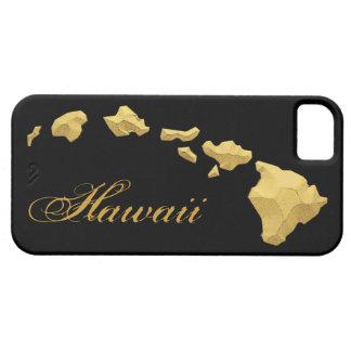 Hawaii islands black gold iphone 5 case