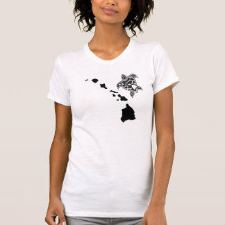 Hawaii Islands Chain - Hawaii Turtle T-Shirt