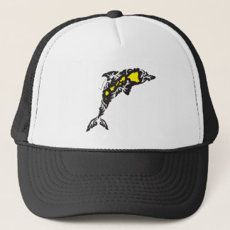 Hawaii Islands Dolphin Trucker Hat