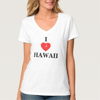 Hawaii Islands Stand Up Paddle T-shirts