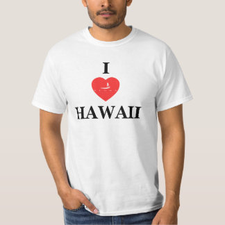 Hawaii Islands Stand Up Paddle Tee Shirt