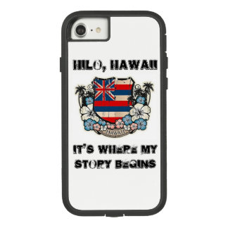 Hawaii, It's Where My Story Begins (iPhone Case) Case-Mate Tough Extreme iPhone 8/7 Case