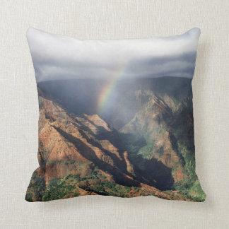 Hawaii, Kauai, Waimea Canyon State Park Cushion