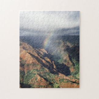 Hawaii, Kauai, Waimea Canyon State Park Jigsaw Puzzle