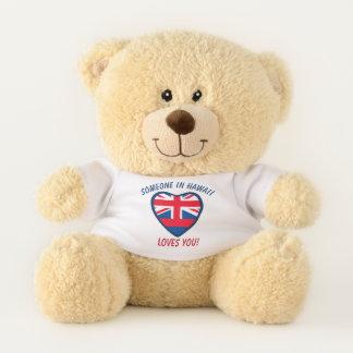 Hawaii Loves You Teddy Bear