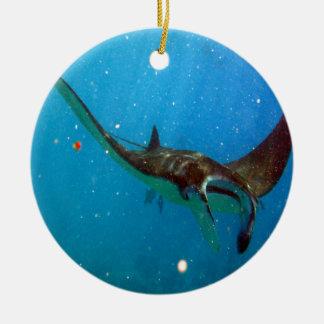 Hawaii Manta Ray Christmas Ornament