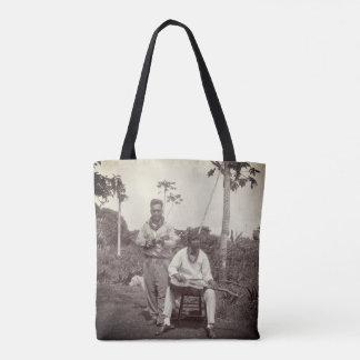 Hawaii Musicians 1920s Vintage Tote Bag