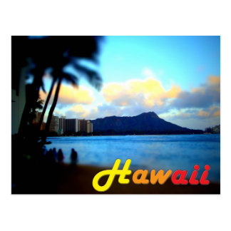 Hawaii-Oahu-Diamond Head Postcard