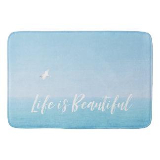 Hawaii Ocean Life is Beautiful Bath Mat