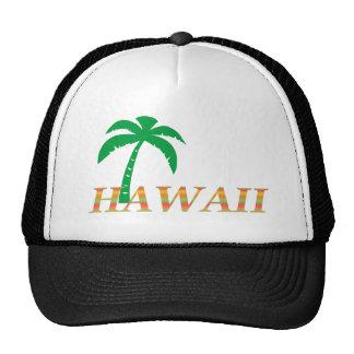 Hawaii Palm Tree Trucker Hat