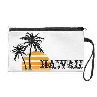 Hawaii Palm Tree Wristlet