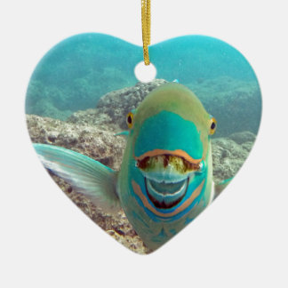 Hawaii Parrot Fish - Uhu Christmas Ornament