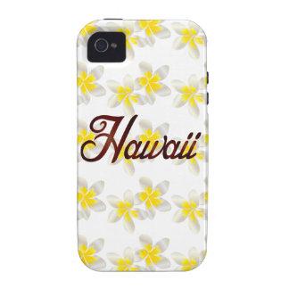 Hawaii Plumeria Flowers Vibe iPhone 4 Covers
