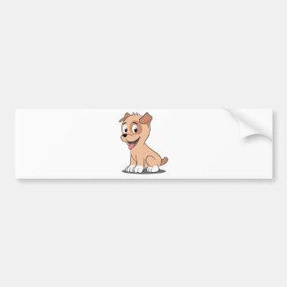 hawaii puppy bumper sticker