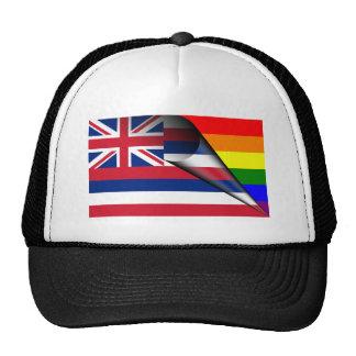 Hawaii Rainbow Flag Cap