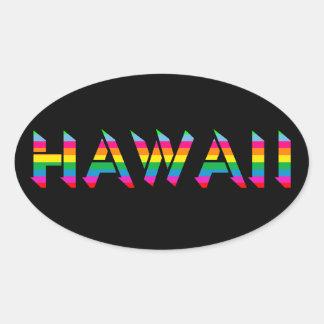 Hawaii Rainbow Stickers