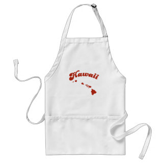 HAWAII Red State Adult Apron