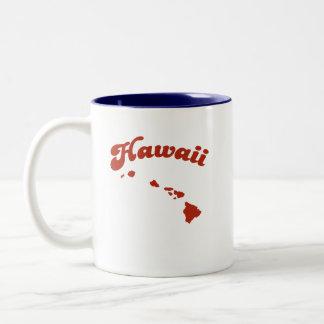 HAWAII Red State Two-Tone Mug