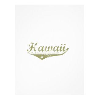 Hawaii Revolution T-shirts Full Color Flyer
