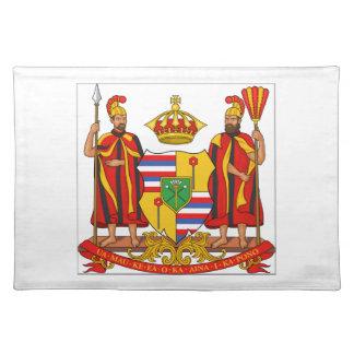Hawaii Royal Coat of Arms Placemat