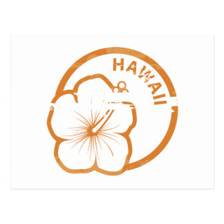 Hawaii rubber stamp postcard