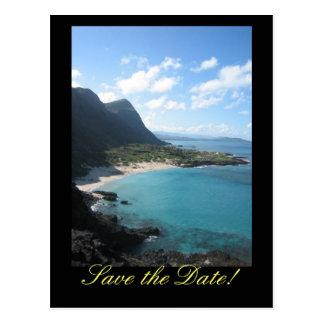 Hawaii Save the Date Postcard