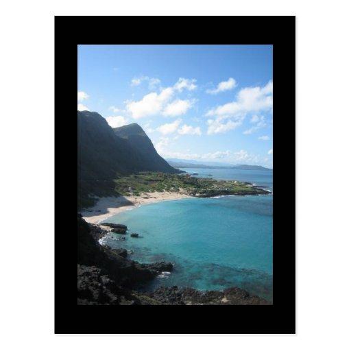 Hawaii Save the Date Wedding Postcard