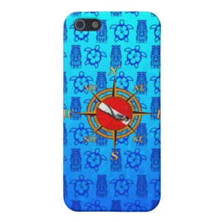 Hawaii SCUBA Diving Cover For iPhone 5/5S